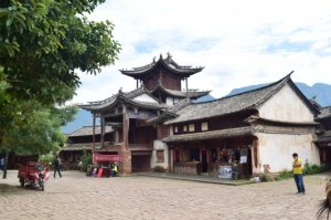 Old Market in Shaxi